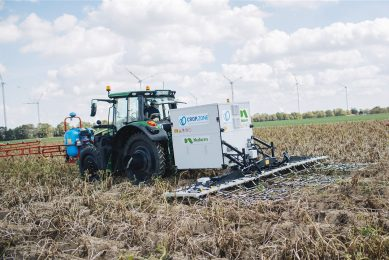 Nufarm and Crop.Zone use electricity to control weeds