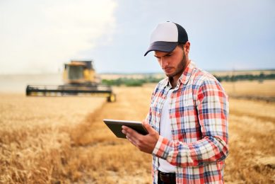 How can small farmers adopt new technology?