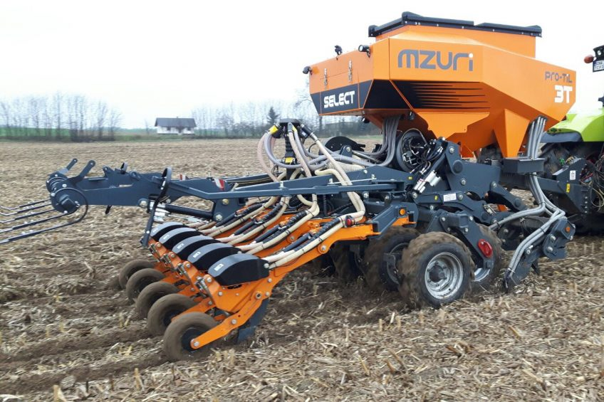 Precision option available for Mzuri strip-till drill