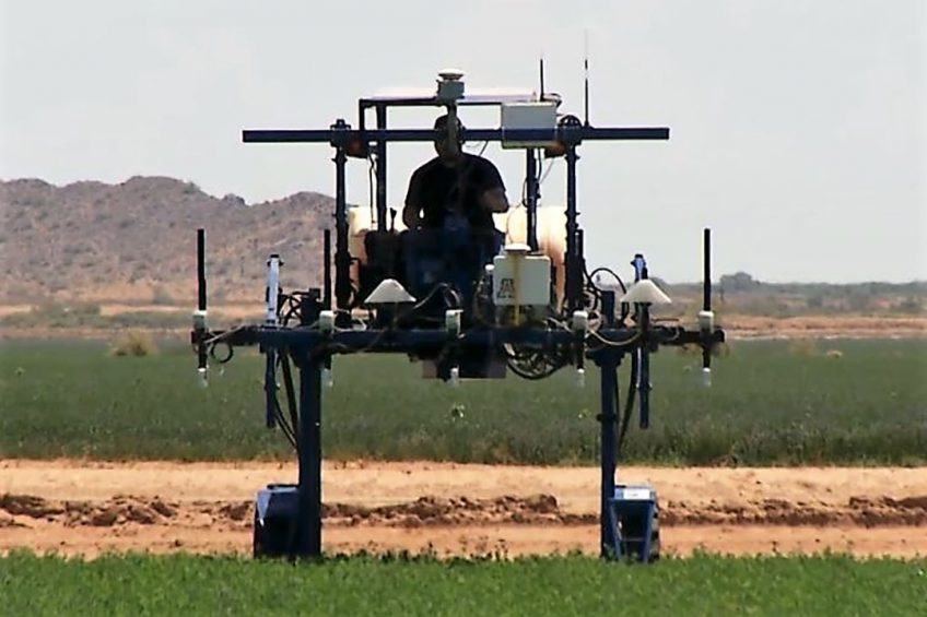 UA research farm testing ground for precision farming