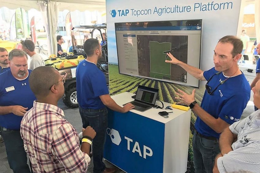 Topcon adds new tools to farm management platform