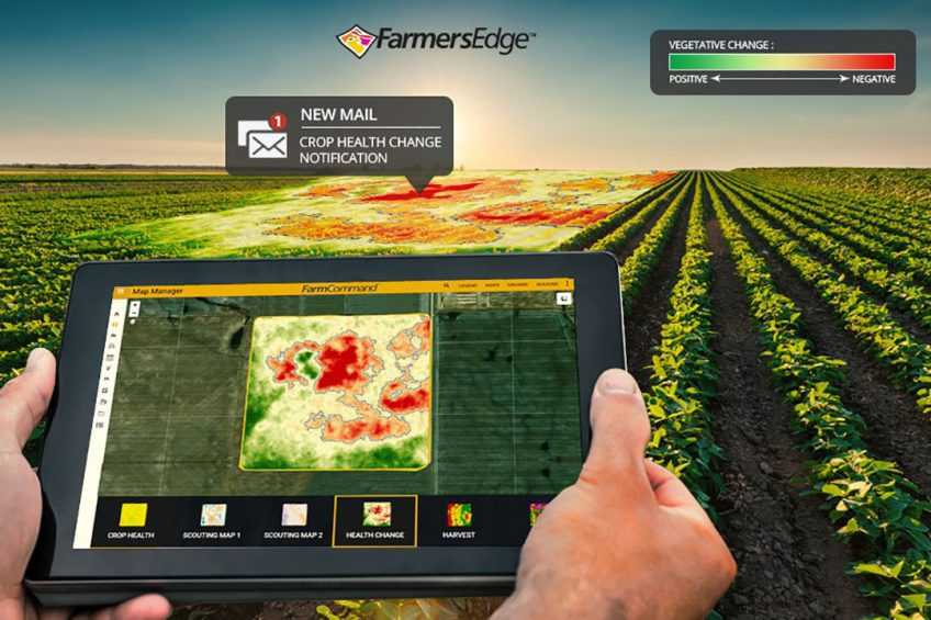 New Farmers Edge tool scans satellite imagery