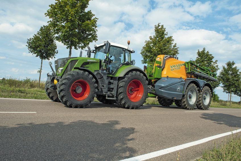 Easier tyre pressure control reduces soil structure damage