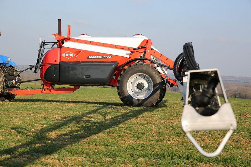 Kuhn Oceanis trailed sprayer now isobus-compatible