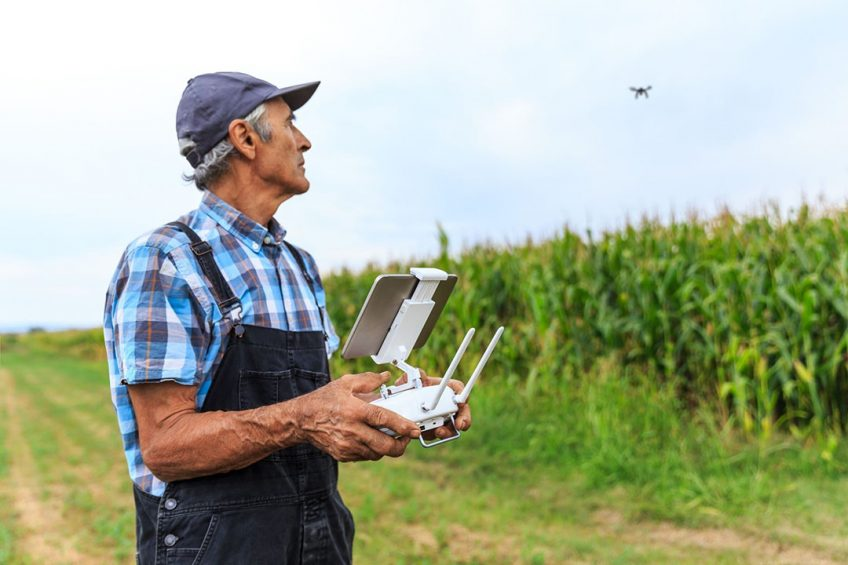 """""""Across the globe, the largest agriculture, logistics, construction, and energy companies are operating fleets of hundreds of drones,  said Mike Winn, CEO and co-founder of DroneDeploy. - Photo:Canva"""
