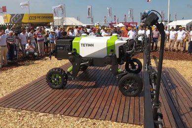 Plantium launches Terran robot for selective spraying