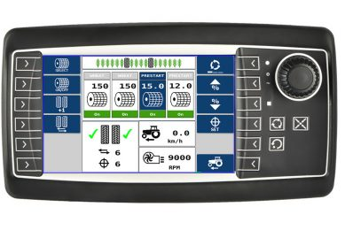 Topcon adds ISOBUS to Opus A6 + A8 terminals