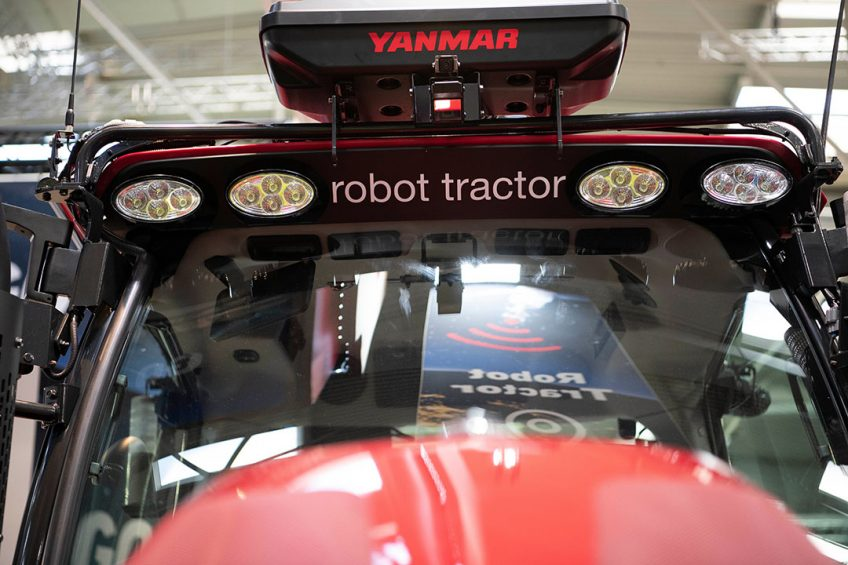 Yanmar makes robot tractor affordable