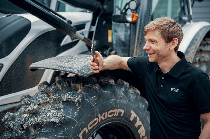 Nokian Intuiti  smart  tyres available for tractors