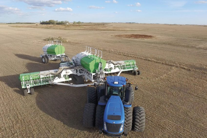 Canadian monster drill Clean Seed offers new level of seed accuracy
