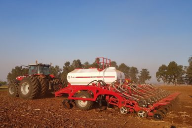 Narrower rows, higher yields in South Africa