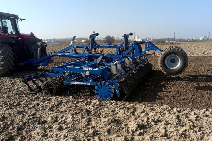 Dal-Bo Depth Control for cultivators and rollers