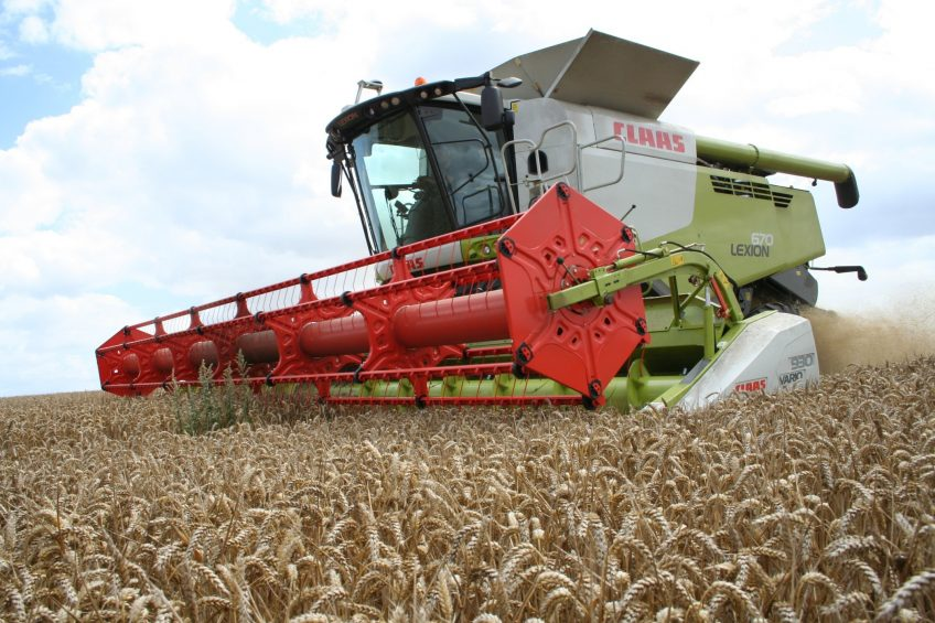 Owners of Lexion (pictured) and Tucano combines, as well as Xerion and Axion tractors, can benefit from the new Claas remote machine monitoring platform.