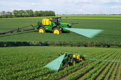 John Deere Autotrac Vision for tractors and sprayers