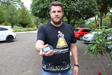 Smart Trace Pack locator prevents cargo robbery
