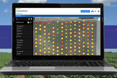 Sentera expands stand count analytics to cotton