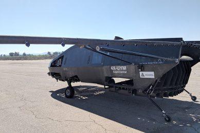 Israeli aerial spraying UAV with 500 kg payload