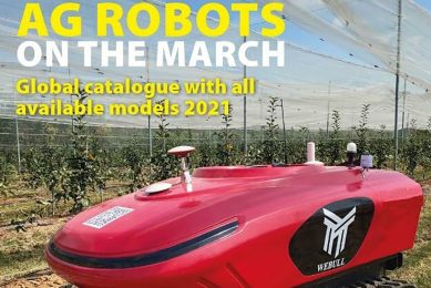Latest issue of Future Farming online: focus on field robots