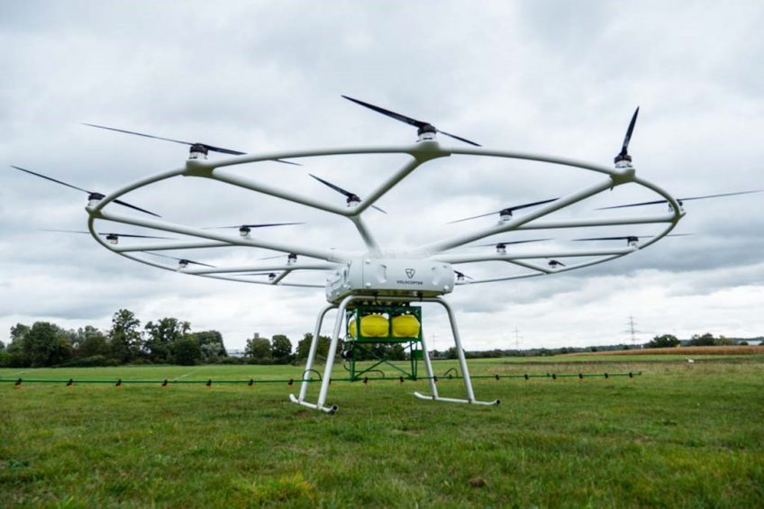 John Deere and Volocopter present heavy-lift drone for agriculture