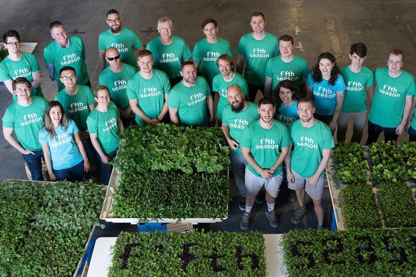 Fifth Season builds 60,000-square-foot vertical farm