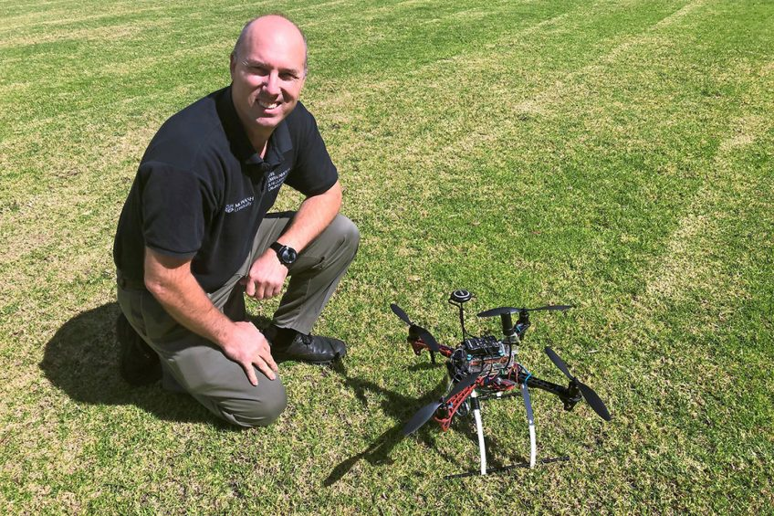 """Professor Jeff Walker: """"Farmers don't have all the expertise to hand to implement state of the art technology. It's upon us, researches and engineers, to provide them with the tools they need."""""""