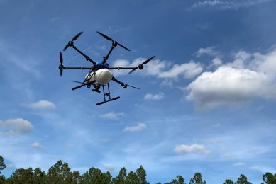Drones on target to deliver nutrients