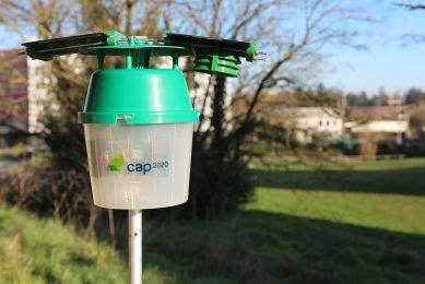 Smart trap alerts growers to pest attack by text