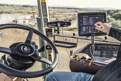 Topcon launches improved in-cab terminal