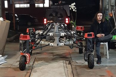 New Russian agricultural robot is on track to field trials