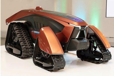 Kubota unveils autonomous tractor concept