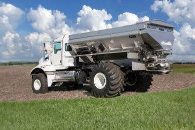 New swath control system cuts fertiliser overlap