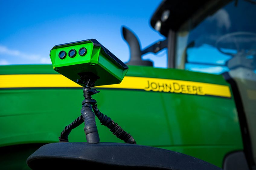 Whether farming crops or livestock, a farmer's most important asset is their time. FieldMicro's wide array of innovative products and world class design will allow farmers to work smarter, not harder. FieldMicro also announced a partnership with John Deere to provide real-time data to the platform.