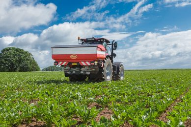 Kverneland refines variable rate control for spreaders