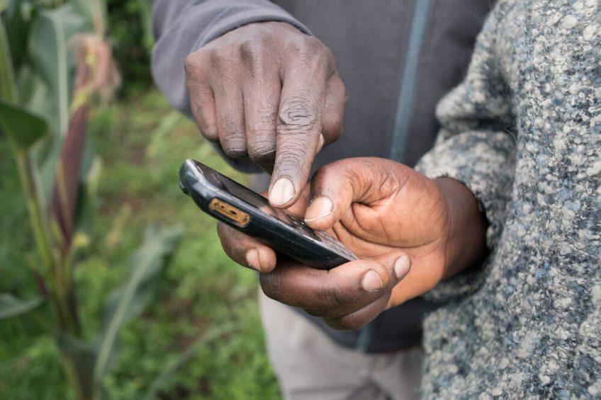 App lets Kenyan farmer profit from full farm potential