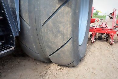 New tyre developed for preventing yield loss