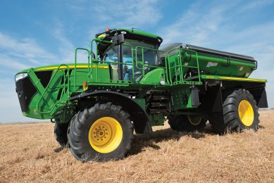 Variable applications of four fertilisers in one pass