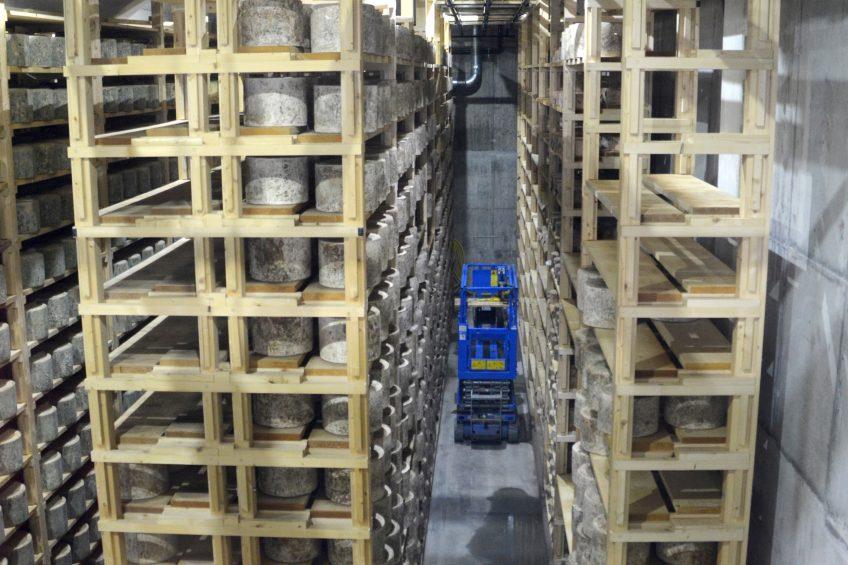 How a high-tech robot is running a UK cheese cave