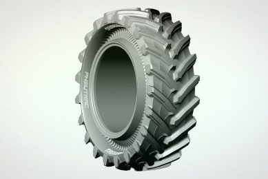 Specialist tyre for orchards and vineyards