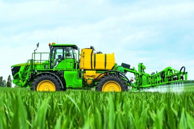 Crop sprayer technology to make every droplet count