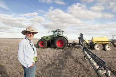 Farmer shares his experiences using a robotic tractor