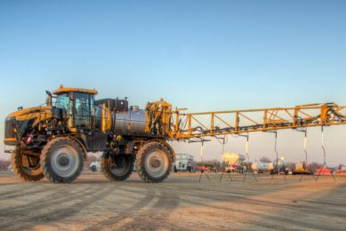 AGCO introduces Y-Logic, a premium nutrient delivery system for its RoGator LiquidLogic and legacy liquid systems. - Photo: AGCO