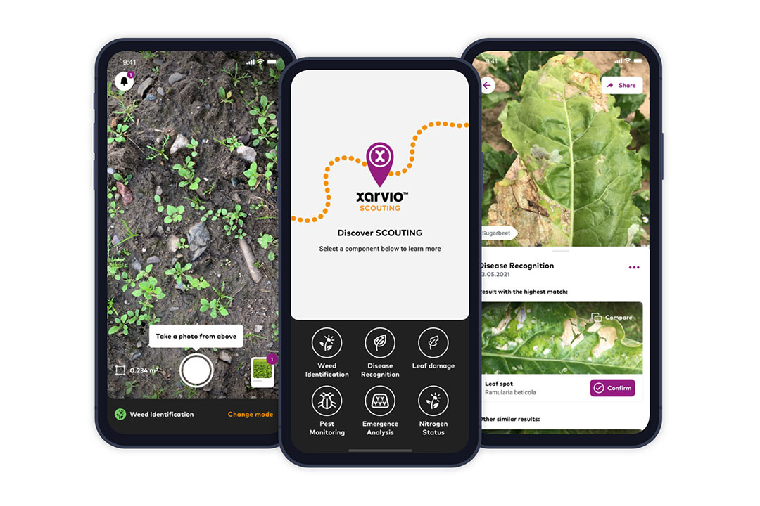 xarvioTM Scouting's advanced image recognition and analysis will enable the joint development of a comprehensive pest monitoring and modelling service for grapes and pome fruits. - Photo: BASF