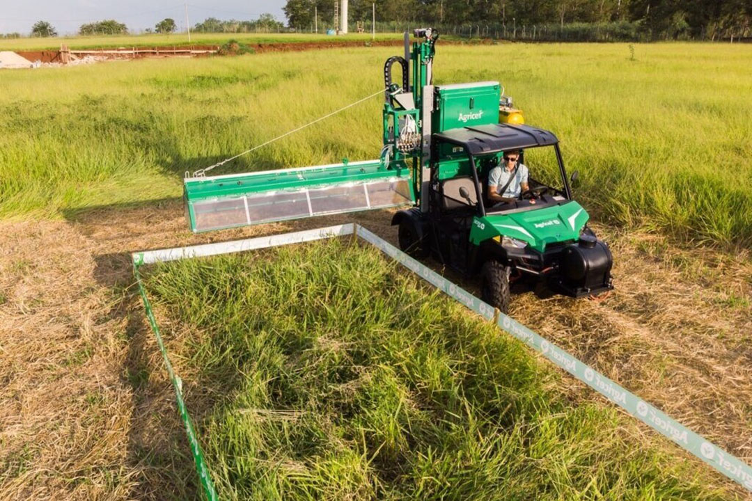 Agricef develops machinery for planting and harvesting.