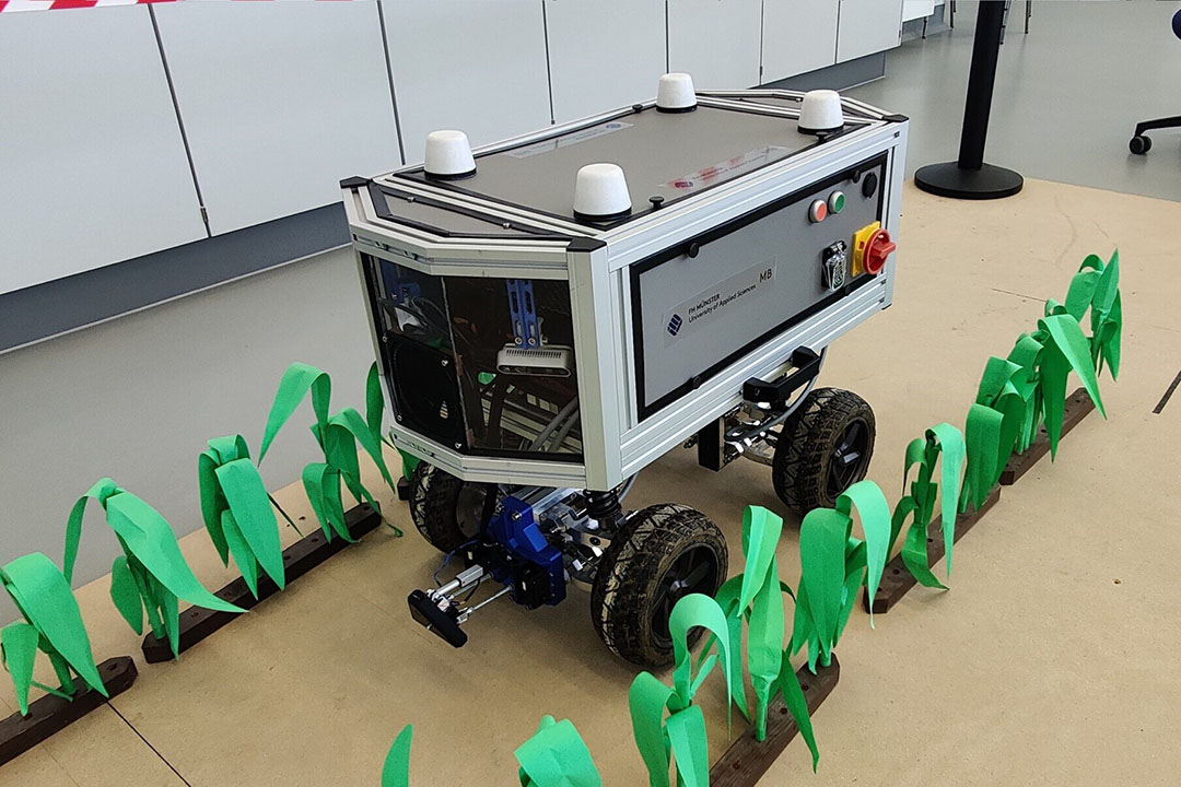 Freestyle tasks included a harvesting robot from Ceres, winning the freestyle category. - Photo: DLG